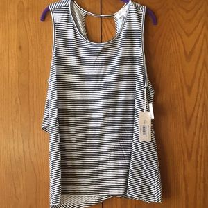 New Two by Vince Camuto striped tank